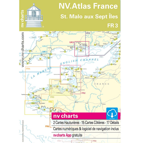 NV Charts Atlas France 3 - St. Malo aux Sept Îles
